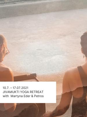 Jivamukti Yoga Retreat Reise Kreta mit Petros Haffenrichter Martyna Eder