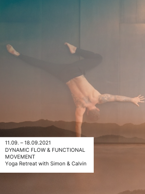 Yoga Retreat Reise Dynamic Flow with Simon Park Calvin