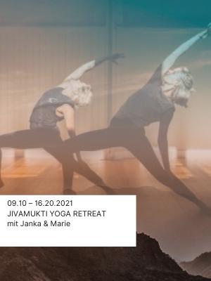 Yoga Retreat Reise Jivamukti mit Janka Marie