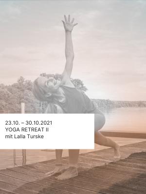 Yoga Retreat Reise mit Lalla Turske